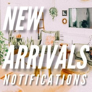 Comment for new arrival notifications
